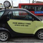 Tyre emergency - 07973 615156